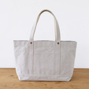 Thick Chambray Canvas Tote M