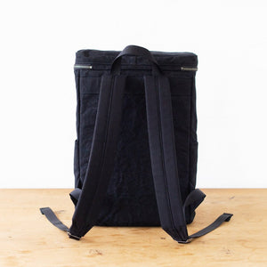 Water Repellent Tiger Canvas Box Backpack