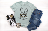 Leopard Glasses Easter Bunny