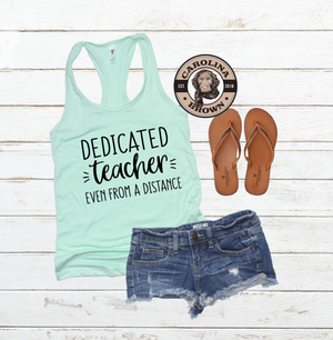 Dedicated Teacher Tank