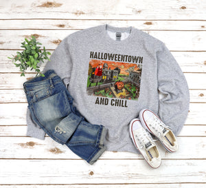 Halloween Town and Chill T-shirt