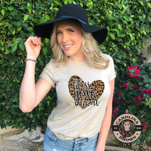 leopard southern t-shirt