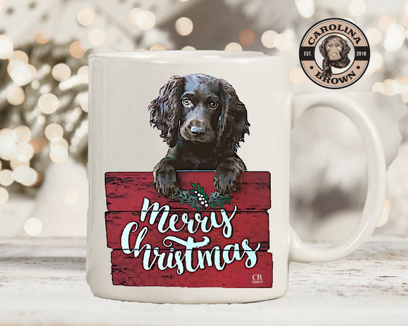 Boykin Cam Merry Christmas Coffee Mug