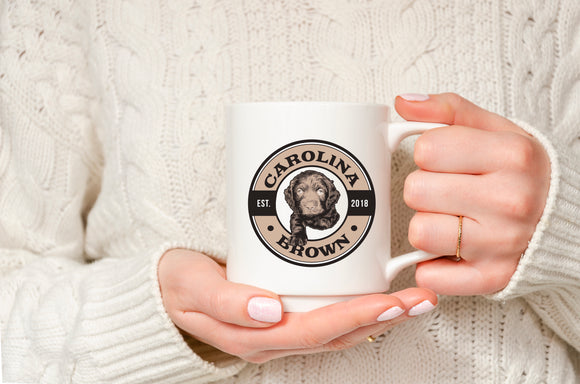Carolina Brown Coffee Mug