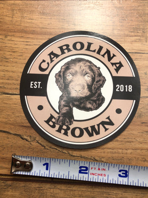 boykin spaniel duck dog circle sticker