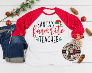 Santa's Favorite Teacher