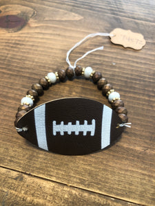 Sale Football Leather Bracelet