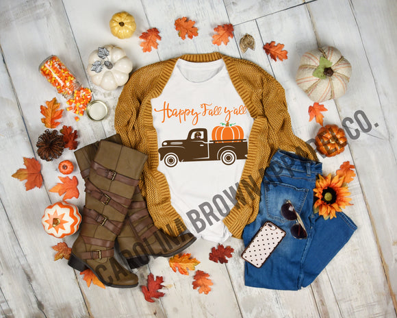 Boykin Happy Fall Y'all T-Shirt