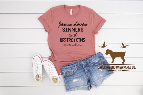 Jesus Love destroykins T-Shirt