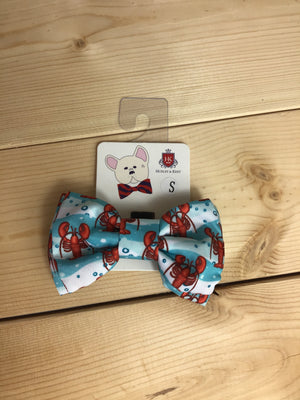 Lobster Dog Bow Tie.