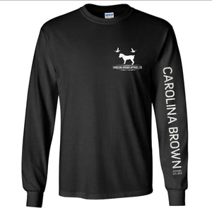 Black 2020 CB Boykin Logo Long Sleeve Performance