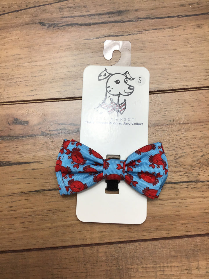 Crab Dog Bow Tie