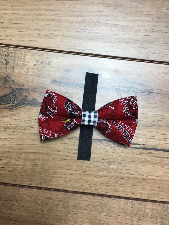 Gamecock Dog Bow Tie Small