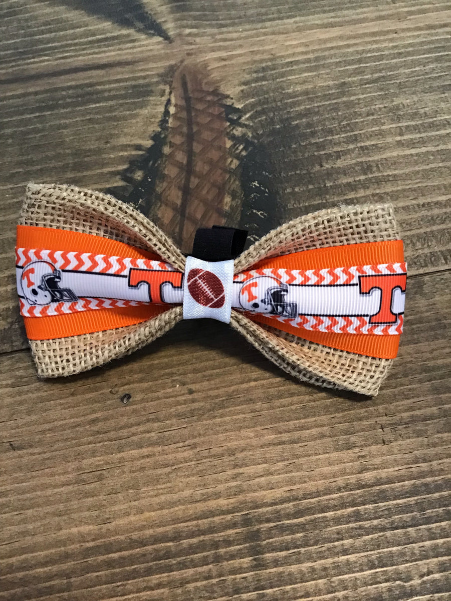 Tennessee Dog Bow Tie