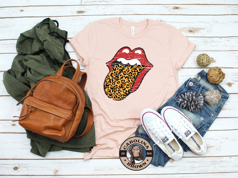Leopard Tongue Southern T-Shirt