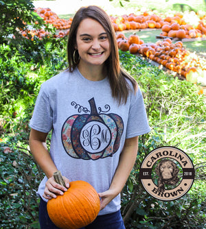 Pumpkin Monogram T-Shirt