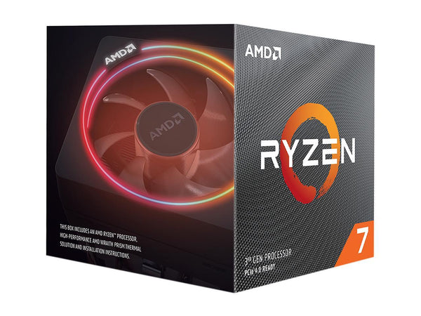 AMD RYZEN 7 3700X 8-Core 3.6 GHz (4.4 GHz Max Boost) Socket AM4 65W 100-100000071BOX Desktop Processor