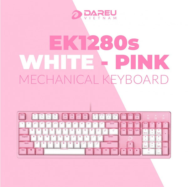 Dareu RGB Mechanical Gaming Keyboard Wired EK1280S