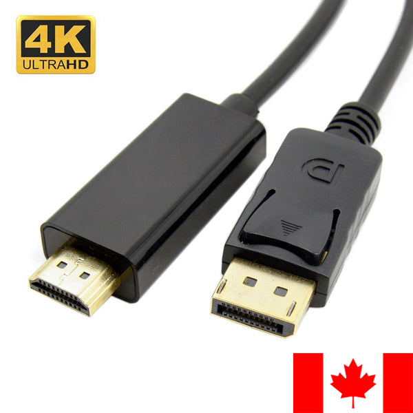 DisplayPort to HDMI Cable DP to HDMI