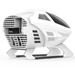 Segotep EDI MATX / MINI-ITX Gaming Computer Case New Design Flight-themed E-sports
