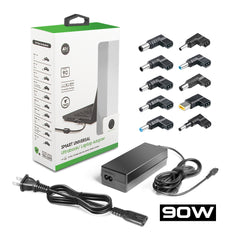 Universal 90W Laptop Charger AC Adapter 10 Tips for HP DELL LENOVO SAMSUNG ASUS MSI ACER SONY LG TOSHIBA worldwide use power supply