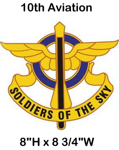 10th Aviation Crest