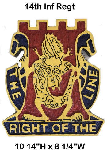 14th Inf Regt Unit Crest