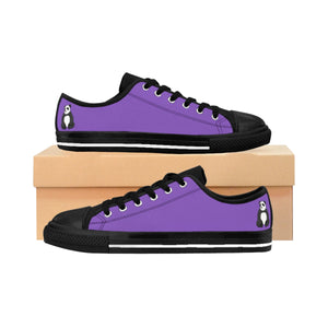 "Purple Panda Women's ""Comfy As F@$k"" Sneakers"