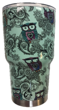 Load image into Gallery viewer, Tiffany Owl Tumbler Warehouse Tumbler