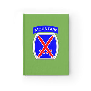 "10th Mountain ""GREEN LEADERSHIP NOTEBOOK"""