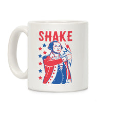 Load image into Gallery viewer, Shake & Bake: George Washington Ceramic Coffee Mug by LookHUMAN
