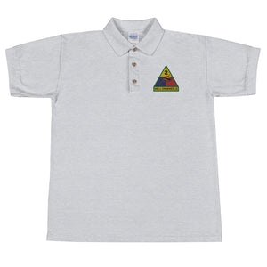 2nd AD Embroidered Polo Shirt