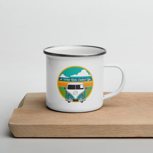 A Wild Ride Called Life Enamel Mug