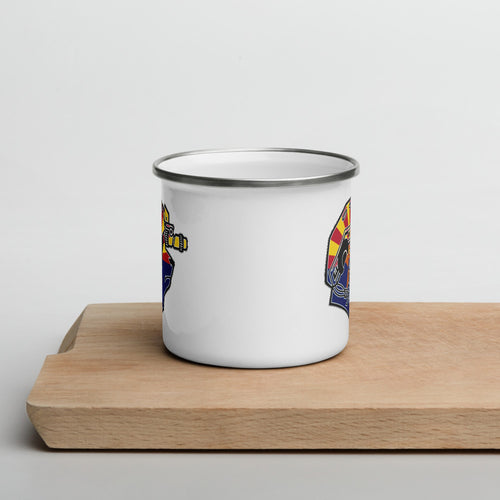 Arizona Pando Commando Enamel Mug
