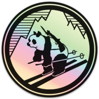 Pando Commando Hologram Sticker
