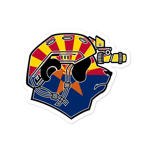 Arizona Pando Commando Bubble-free stickers