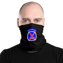 Load image into Gallery viewer, 10th Mountain Neck Gaiter