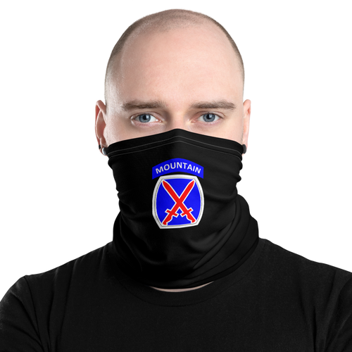 10th Mountain Neck Gaiter