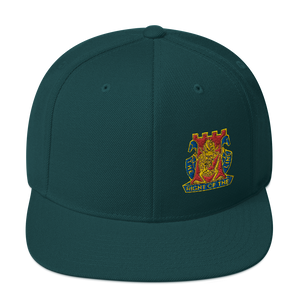 Golden Dragon Snapback Hat