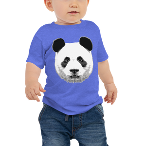 Baby Panda Face Short Sleeve Tee