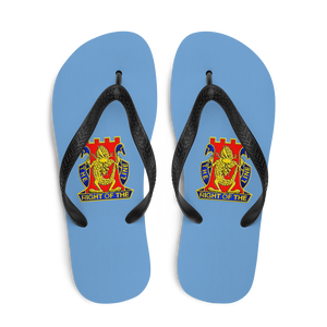 Golden Dragon Flip-Flops
