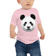 Load image into Gallery viewer, Baby Panda Face Short Sleeve Tee