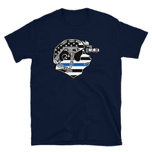 Load image into Gallery viewer, Thin Blue Line Pando Commando Tee