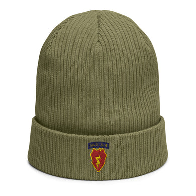 4/25th Inf (Abn) Organic ribbed beanie