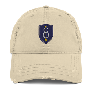 8th Infantry Division Distressed Dad Hat