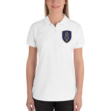 Load image into Gallery viewer, Womens Embroidered Women's Polo Shirt