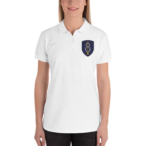 Womens Embroidered Women's Polo Shirt