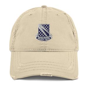 Ready Now (1-89 CAV) Distressed Dad Hat