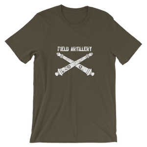 Cross Cannon Short-Sleeve Unisex T-Shirt