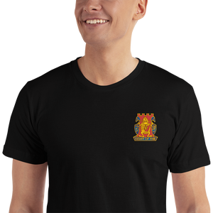 Golden Dragon Embroidered T-Shirt